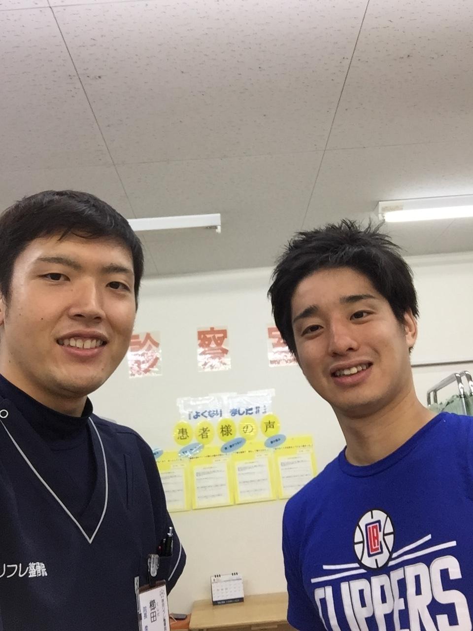 日本代表 山田選手と